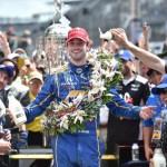 Rossi, un novato gana la edición 100 de la Indy 500