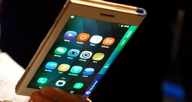 Smartphones plegables para el 2017